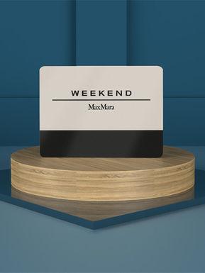 Gift card Weekend Maxmara