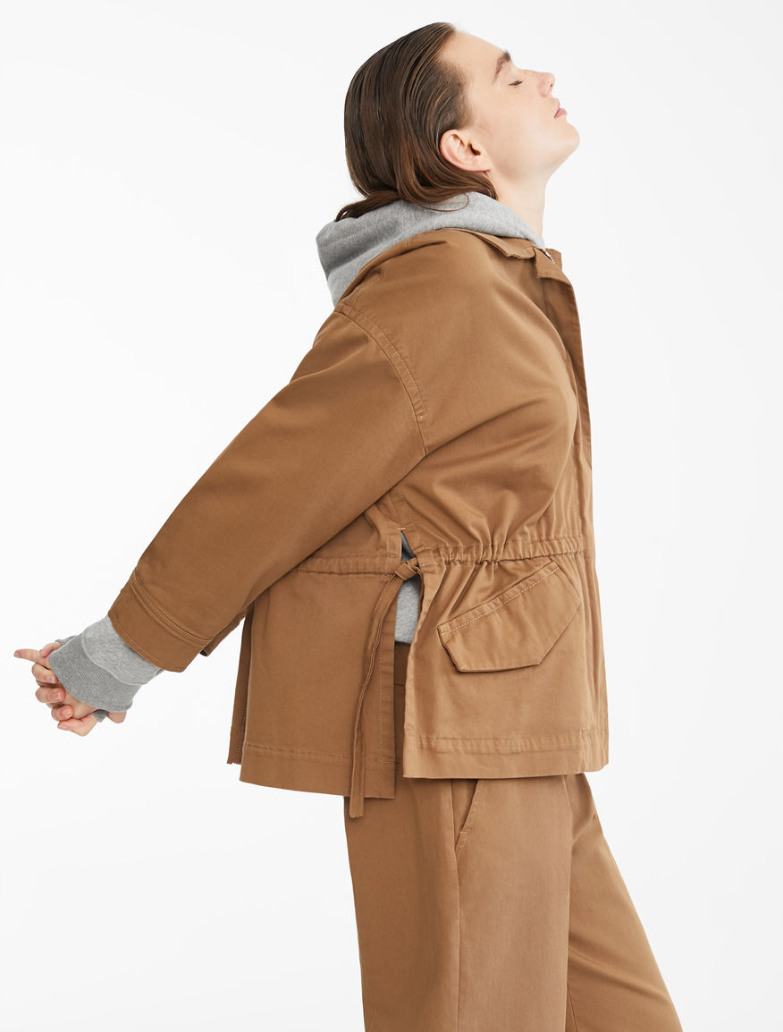 Cotton twill jacket Weekend Maxmara