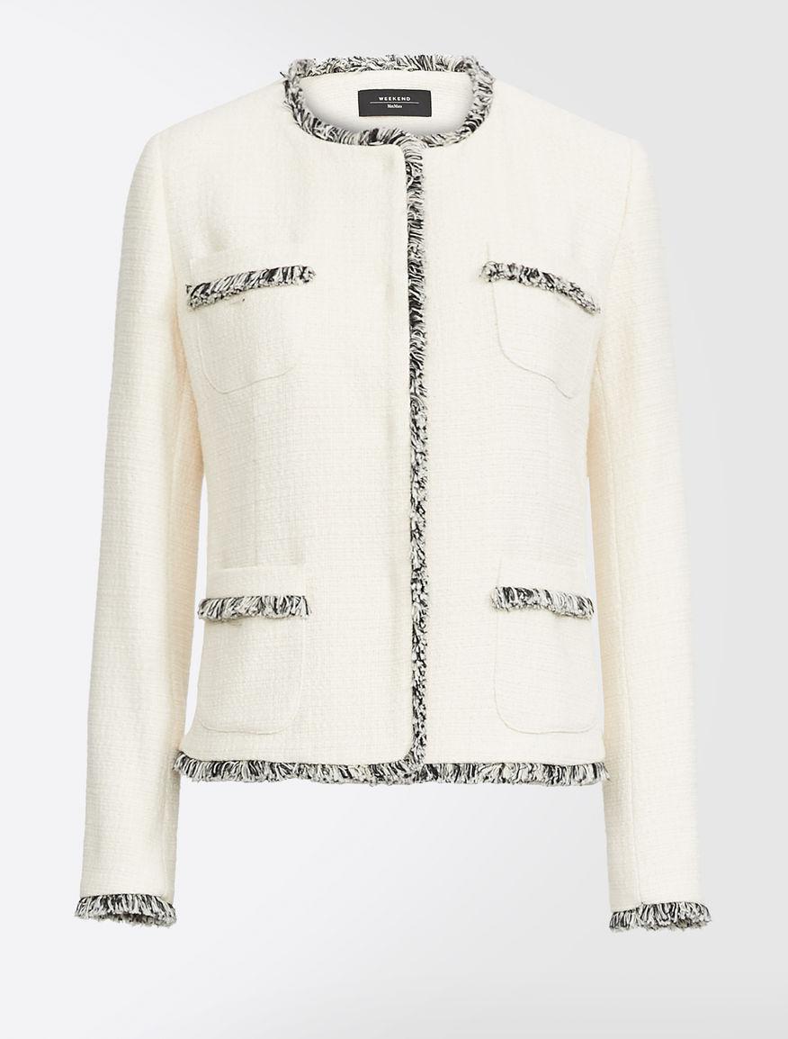 Cotton-blend jacket Weekend Maxmara