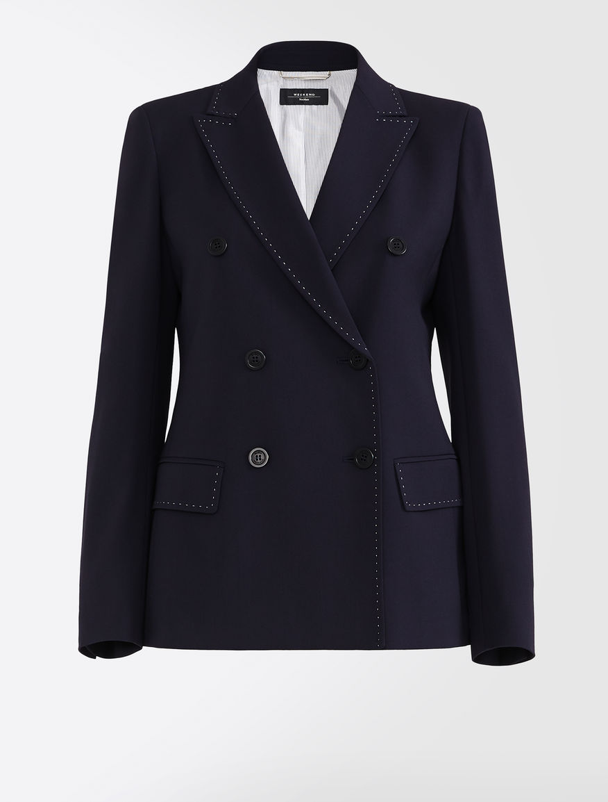 Wool and viscose twill blazer Weekend Maxmara