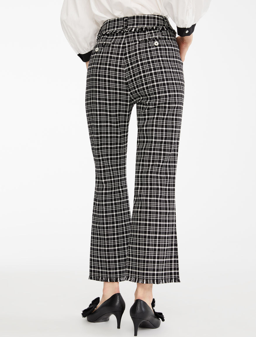 Cotton cordelet trousers Weekend Maxmara