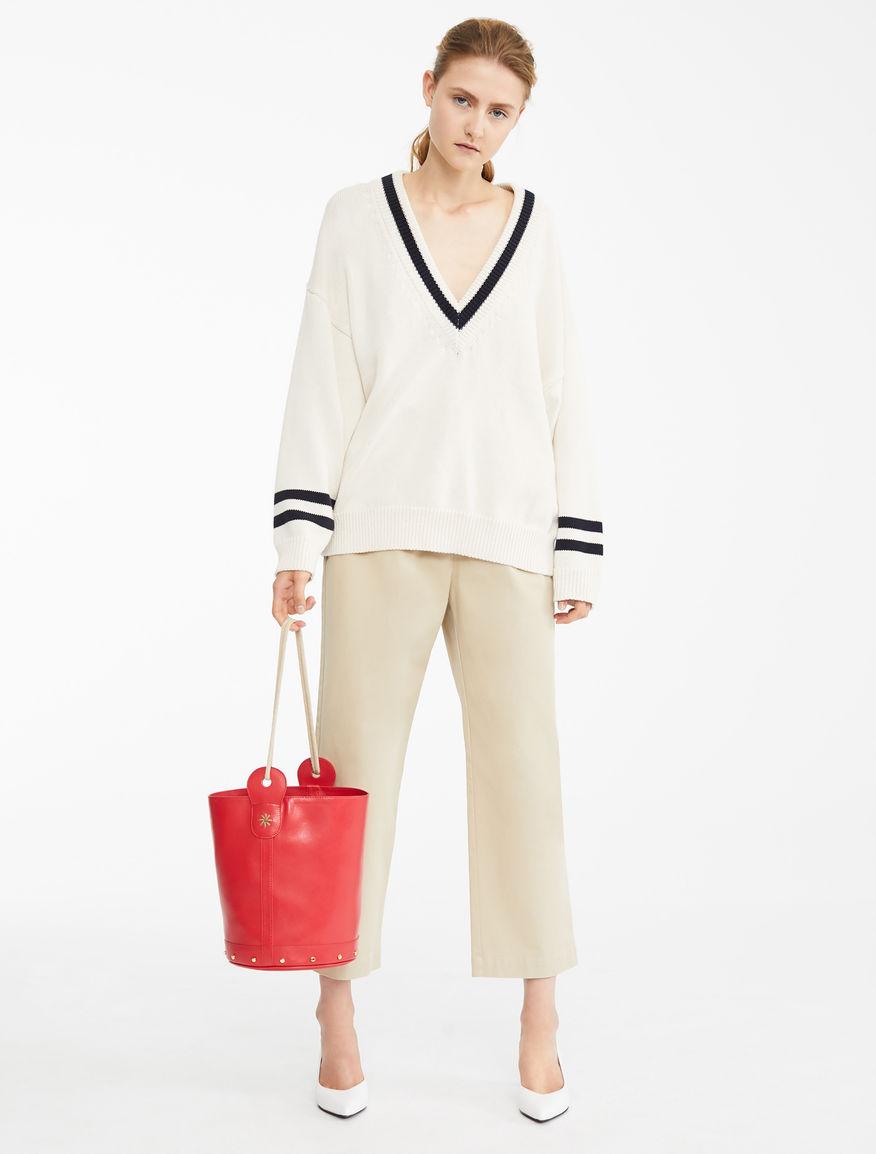 Cotton twill trousers Weekend Maxmara