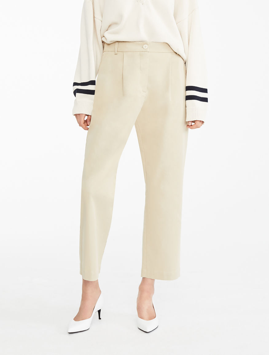 Cotton twill trousers Weekend Maxmara