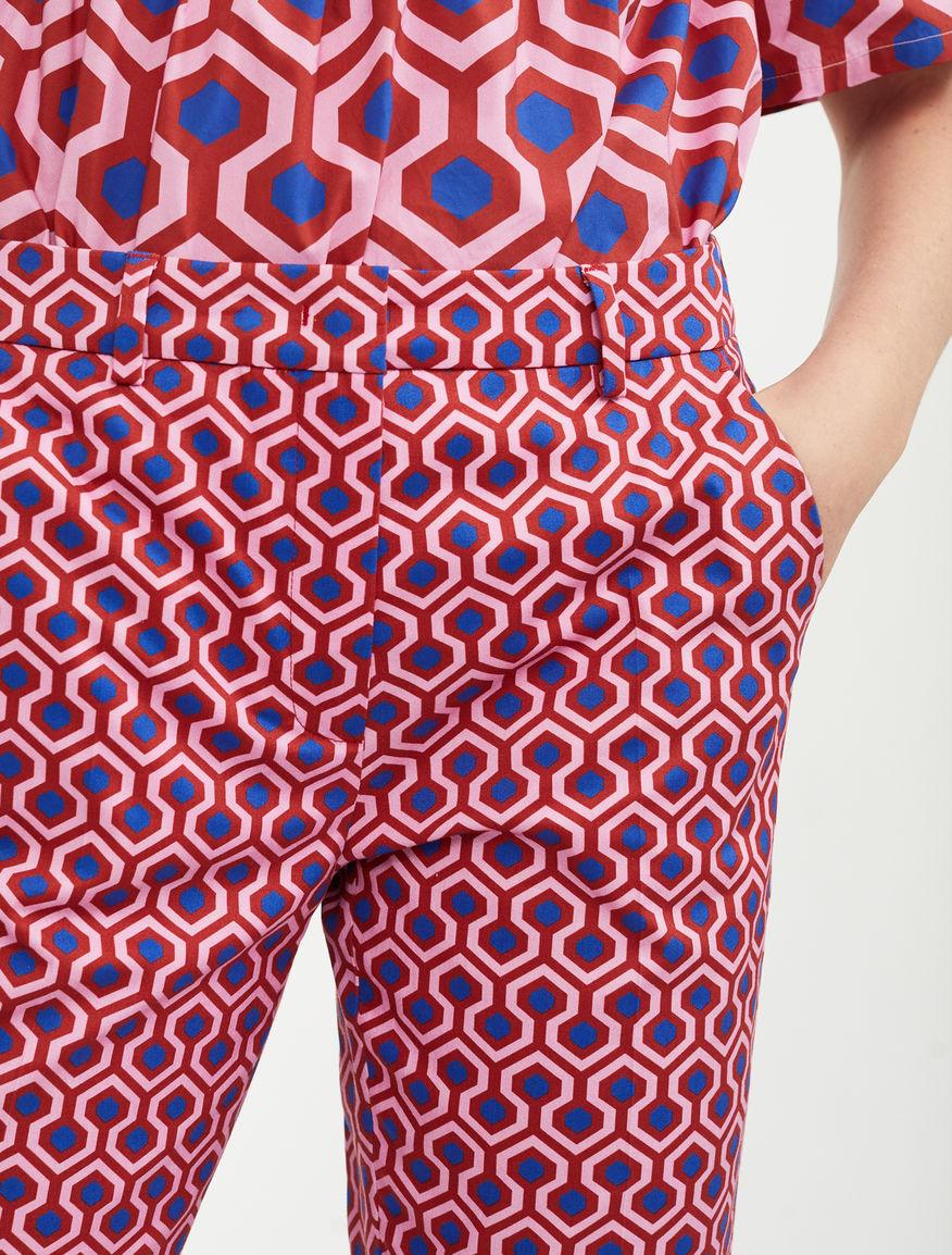 Cotton gabardine trousers Weekend Maxmara