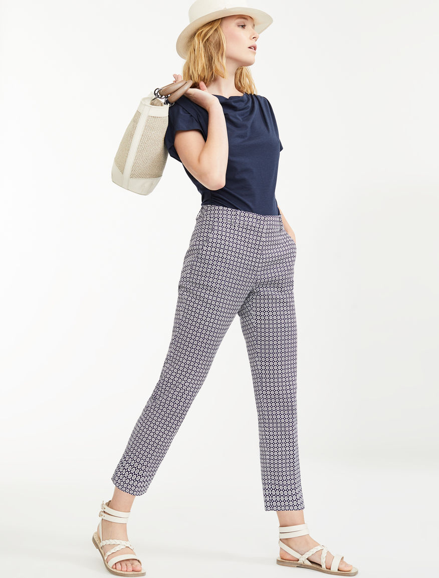 Trousers in woven cotton Weekend Maxmara
