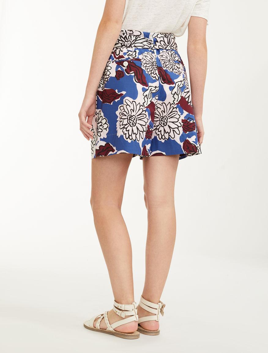 Cotton poplin shorts Weekend Maxmara