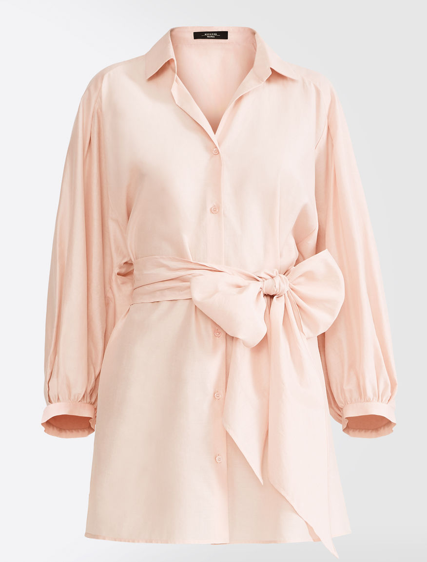 Silk and linen canvas tunic Weekend Maxmara