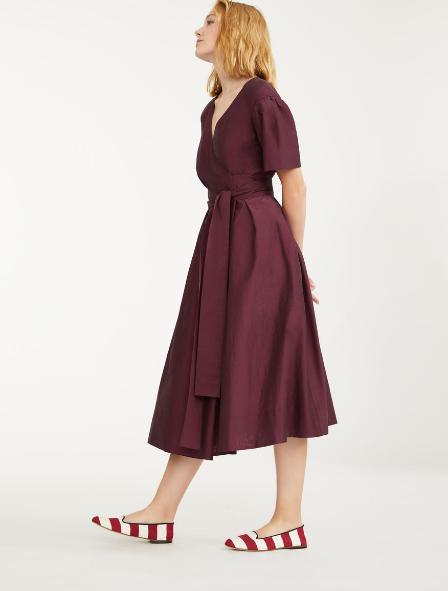Silk and linen canvas dress Weekend Maxmara