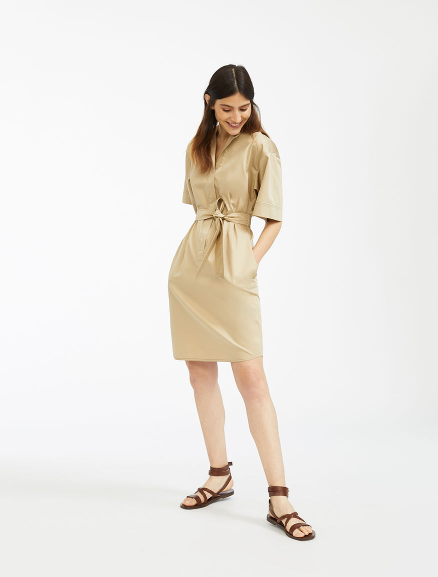 Cotton sateen dress Weekend Maxmara