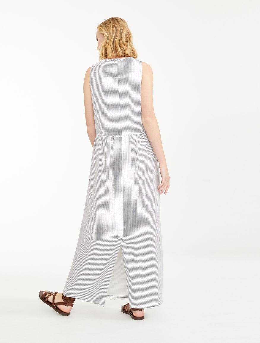 Dress in silk and linen canvas Weekend Maxmara
