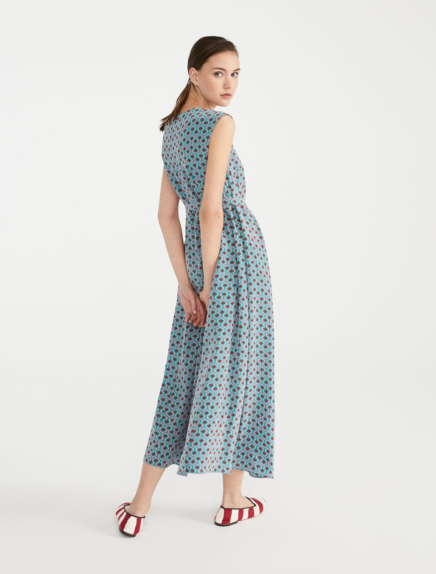 Silk crepe de chine dress Weekend Maxmara
