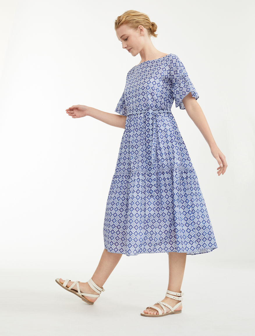Cotton voile dress Weekend Maxmara