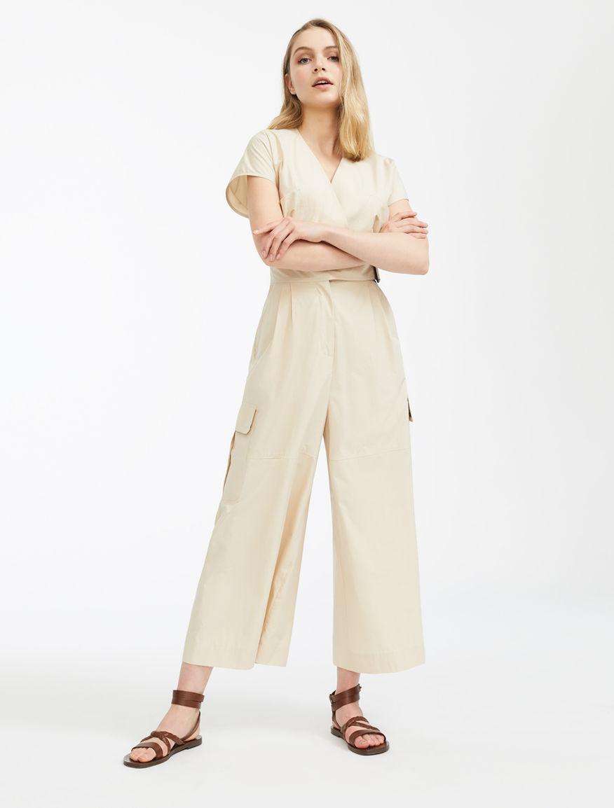 Cotton poplin jumpsuit Weekend Maxmara