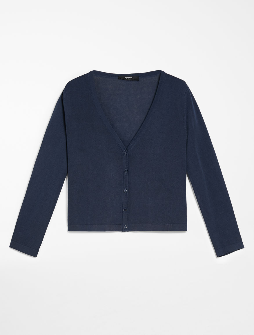 Viscose yarn cardigan Weekend Maxmara
