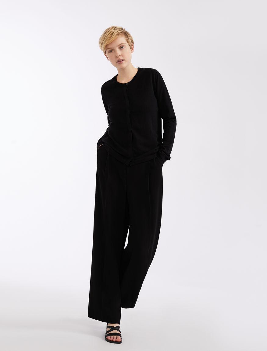 Cotton and silk yarn cardigan Weekend Maxmara