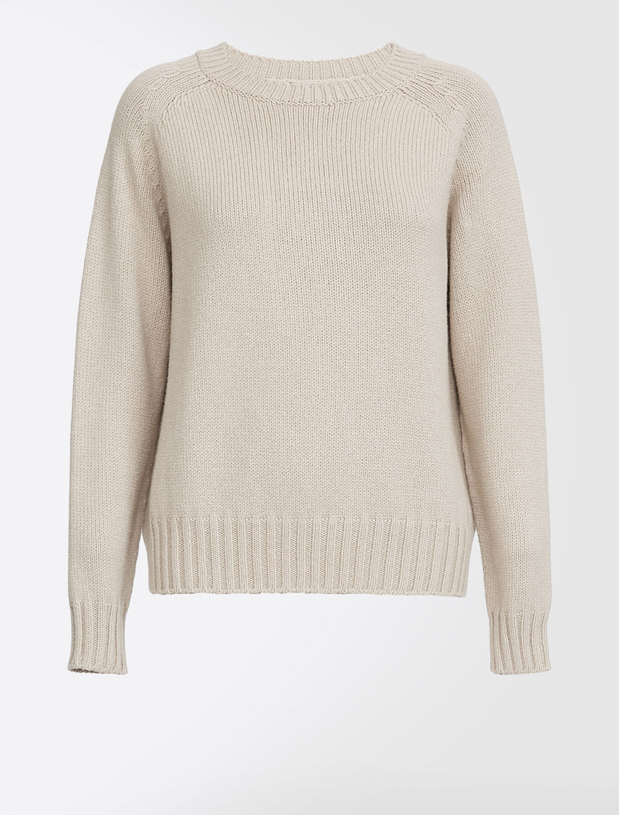 Cashmere and cotton yarn jumper Weekend Maxmara