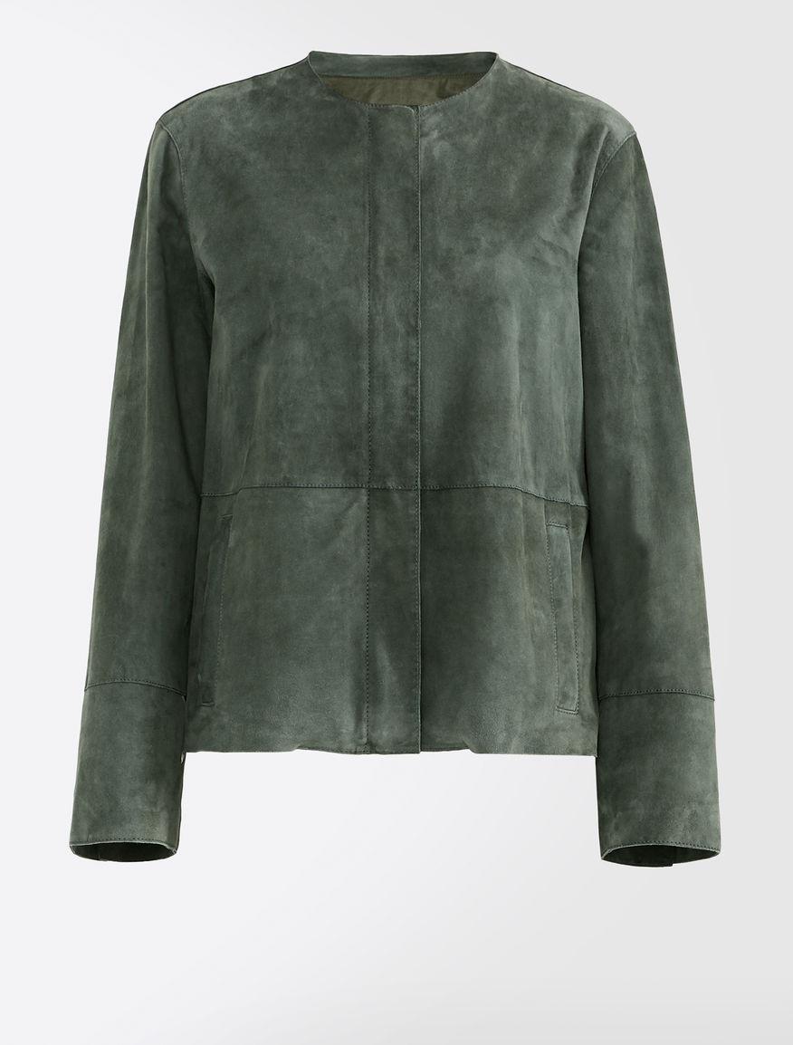 Suede jacket Weekend Maxmara