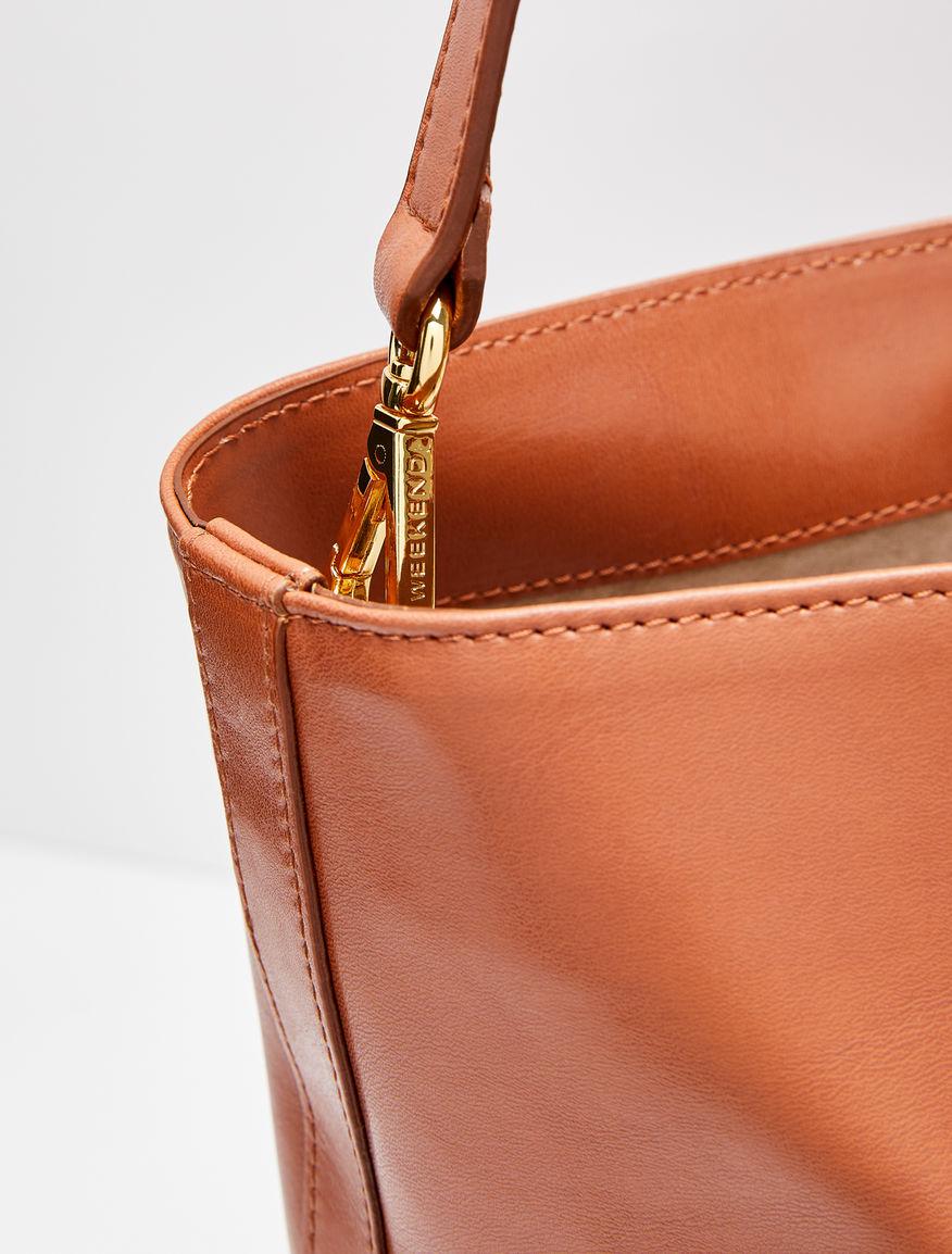Leather bag Weekend Maxmara