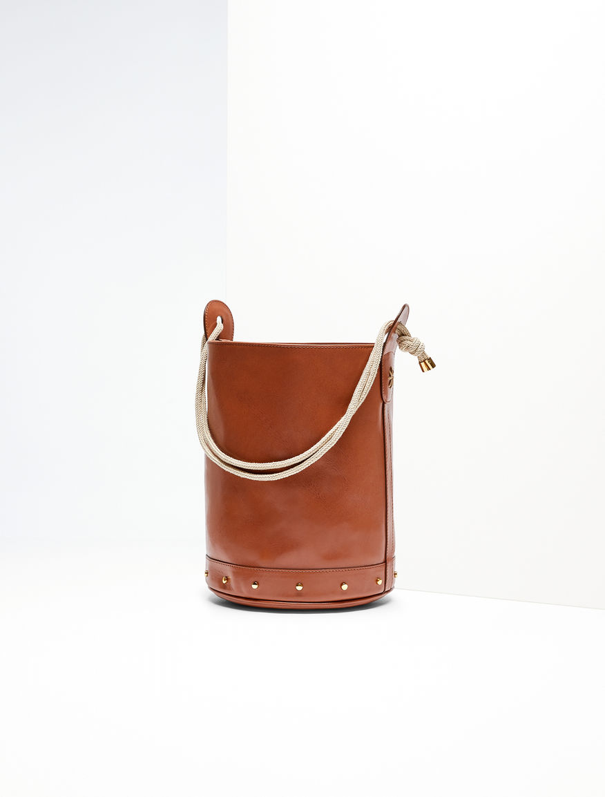 Leather bucket bag Weekend Maxmara