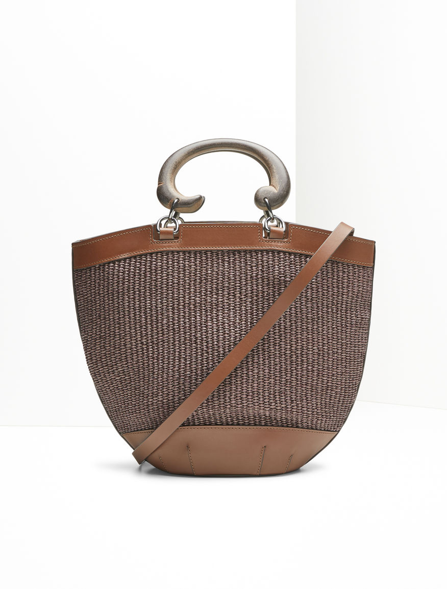 Raffia basket bag Weekend Maxmara