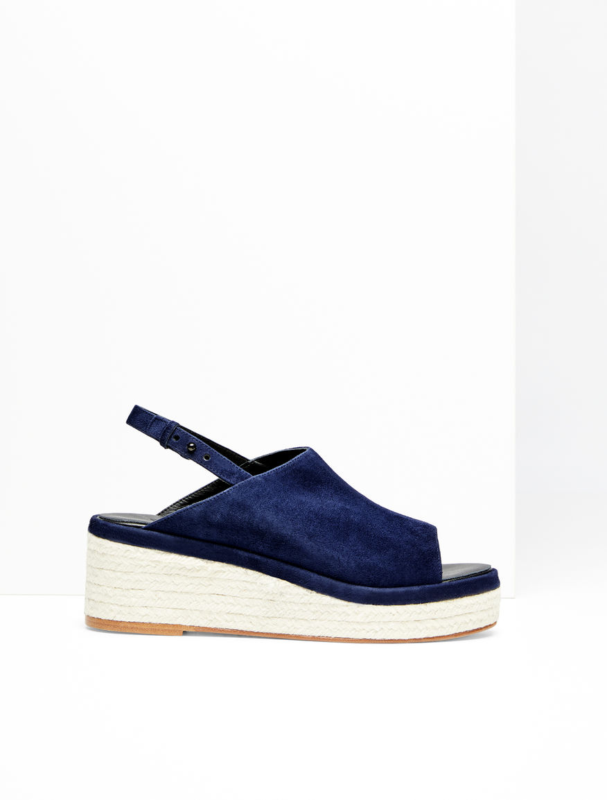 Suede wedge sandal Weekend Maxmara