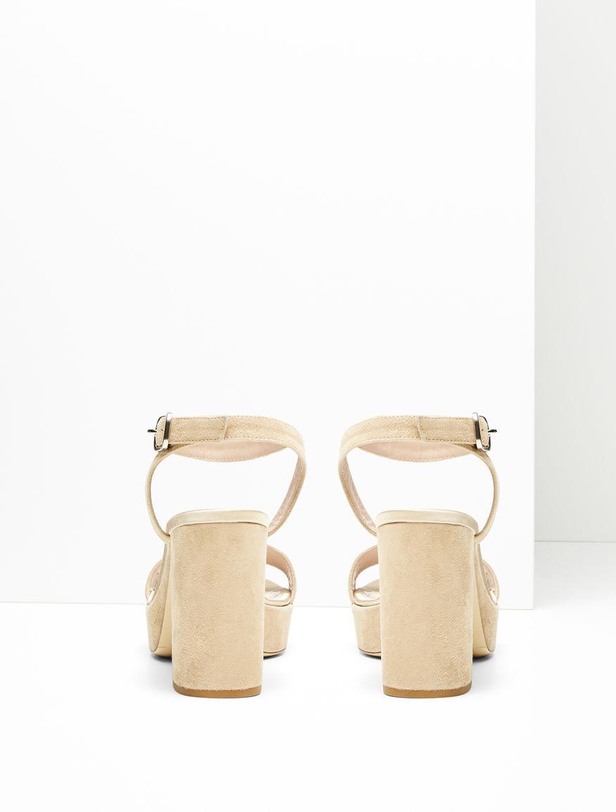 Suede sandals Weekend Maxmara
