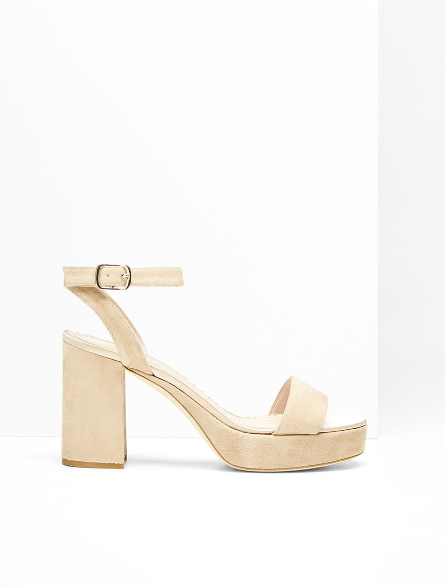 Suede sandals Weekend Maxmara
