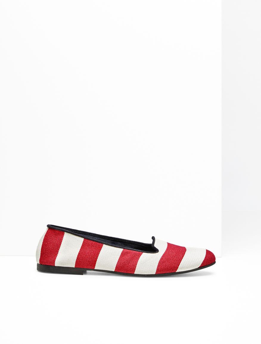 Striped fabric loafer Weekend Maxmara