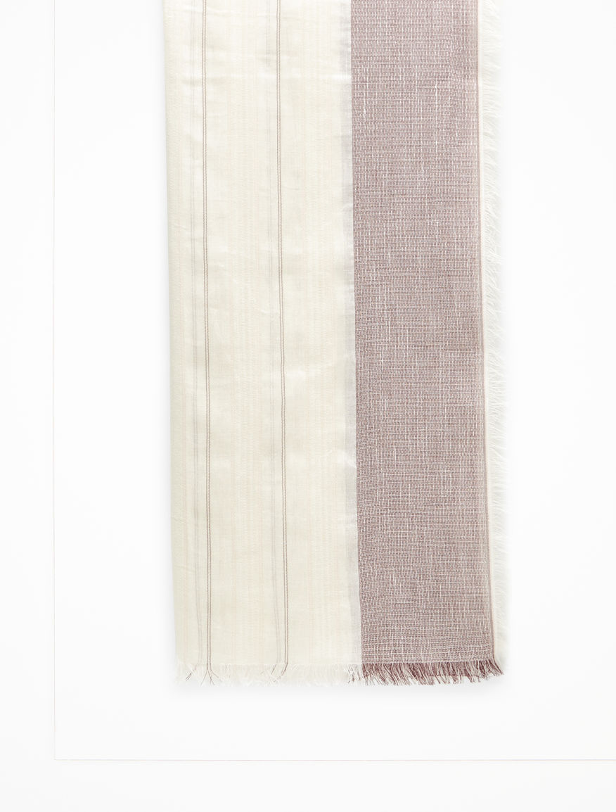 Cotton and linen stole Weekend Maxmara