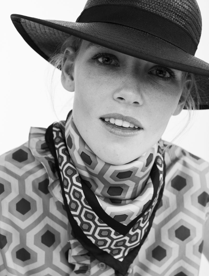 Printed silk foulard Weekend Maxmara
