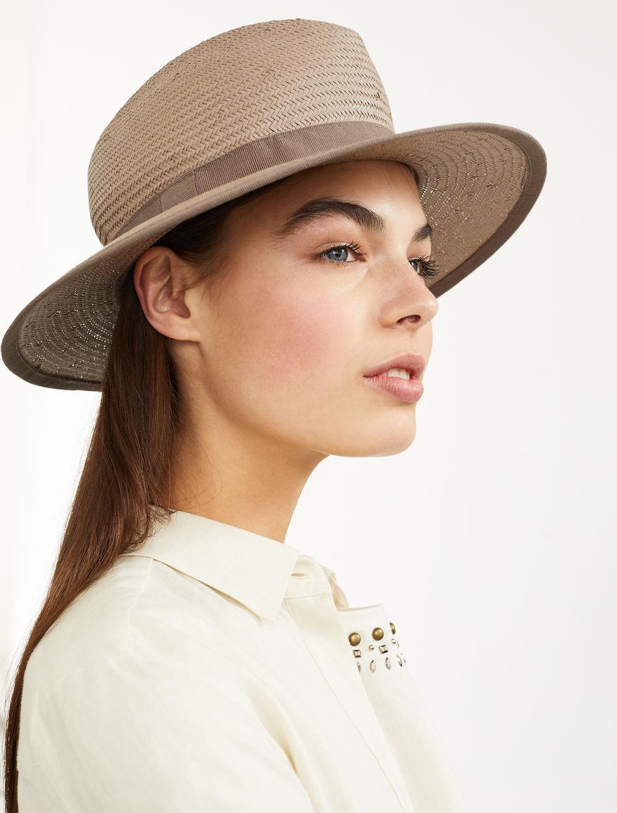 Cappello borsalino in carta tessile Weekend Maxmara