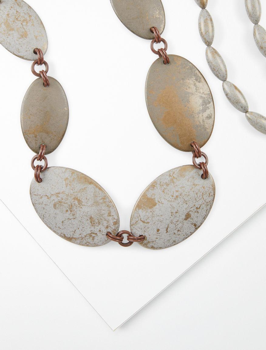 Set 2 resin necklaces Weekend Maxmara