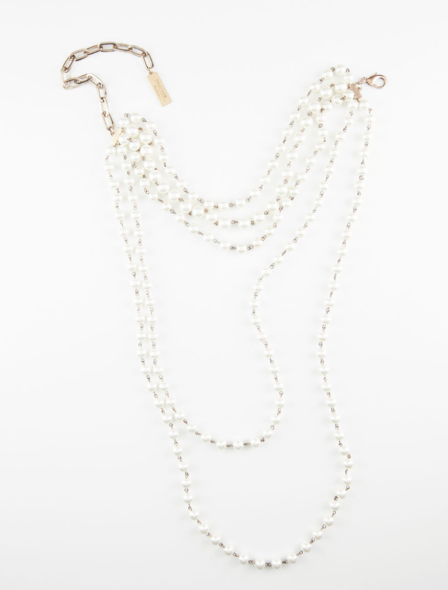 Collana multifili con perle Weekend Maxmara