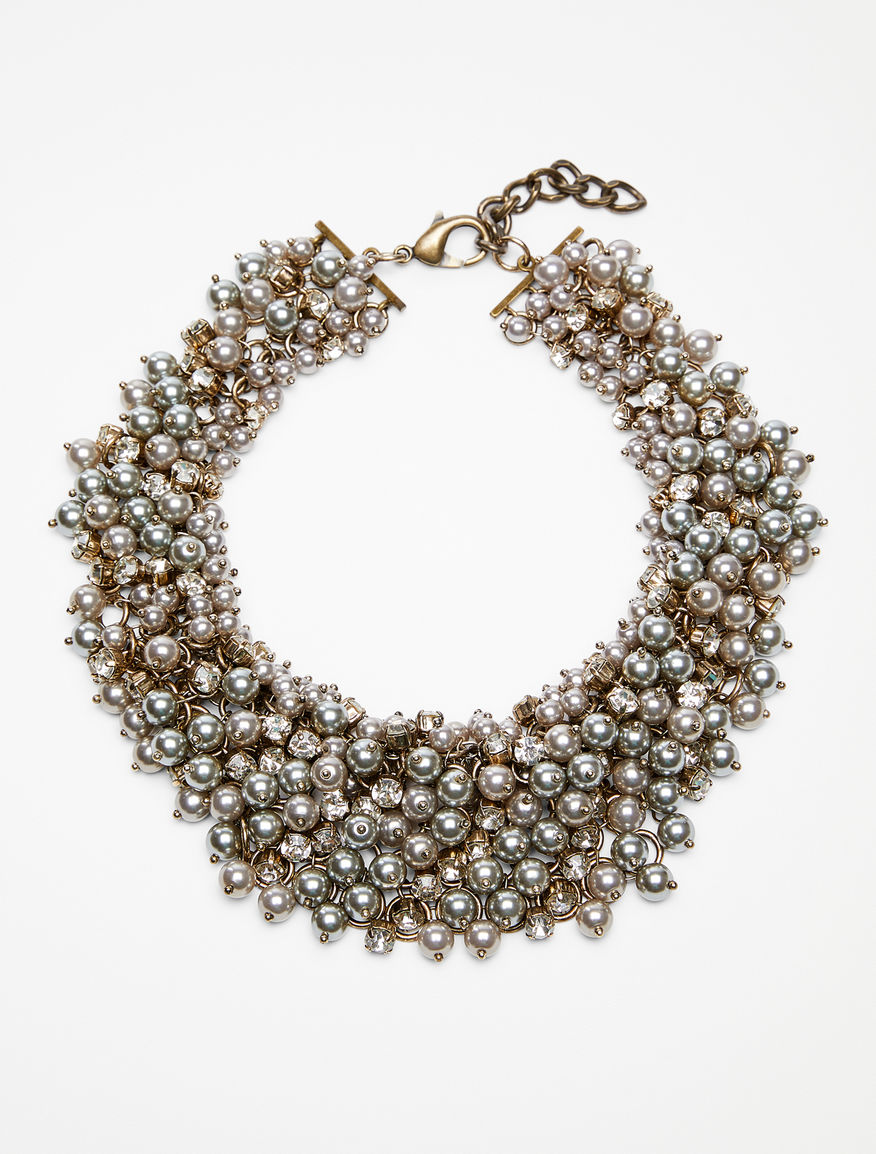 Pearl and crystal necklace Weekend Maxmara