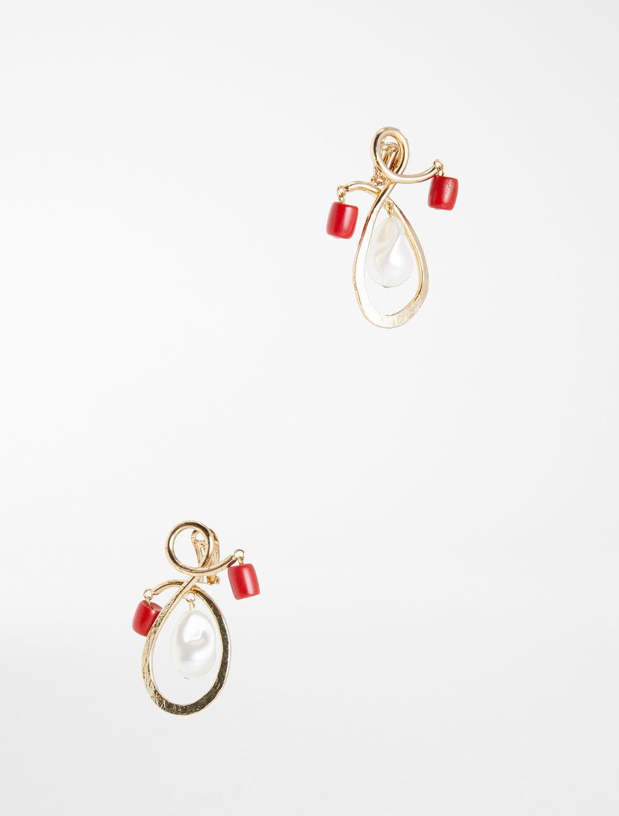 Earrings with resin pendant Weekend Maxmara
