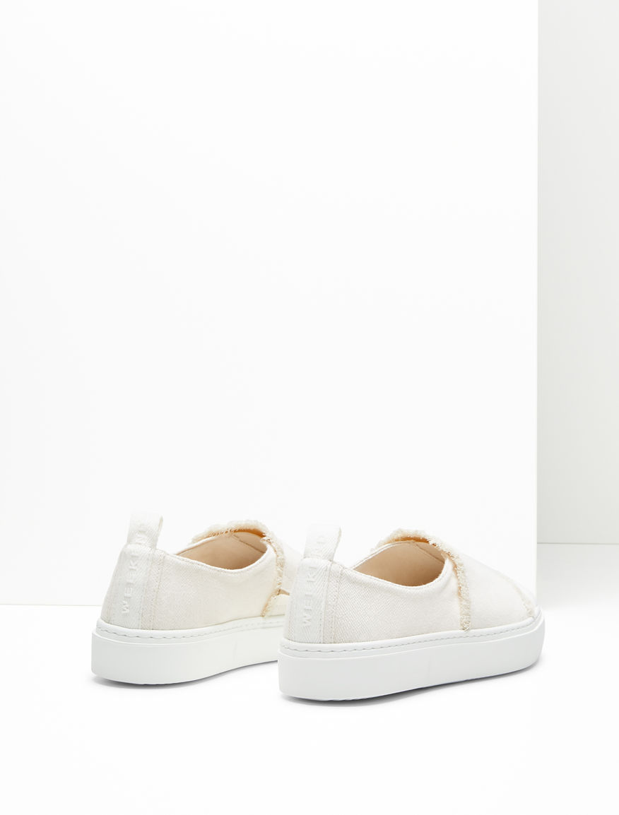 Cotton canvas trainers Weekend Maxmara
