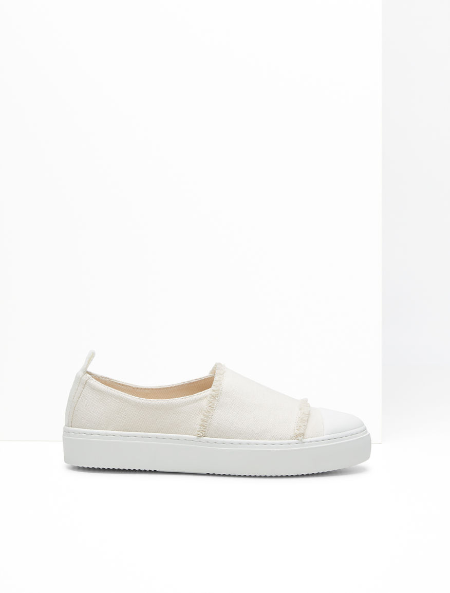 Sneaker in canvas di cotone Weekend Maxmara