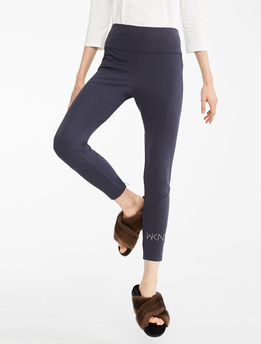 Cotton jersey leggings Weekend Maxmara