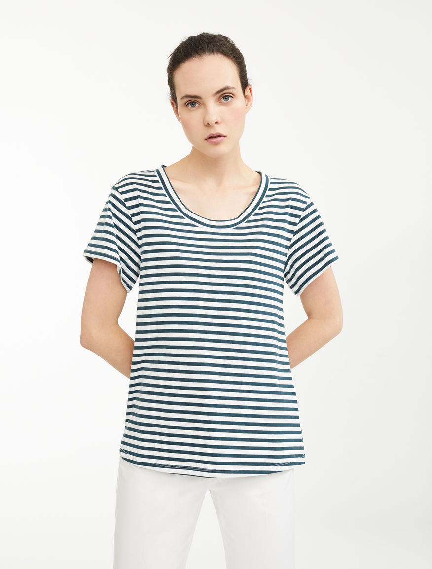 T-shirt in jersey di cotone Weekend Maxmara