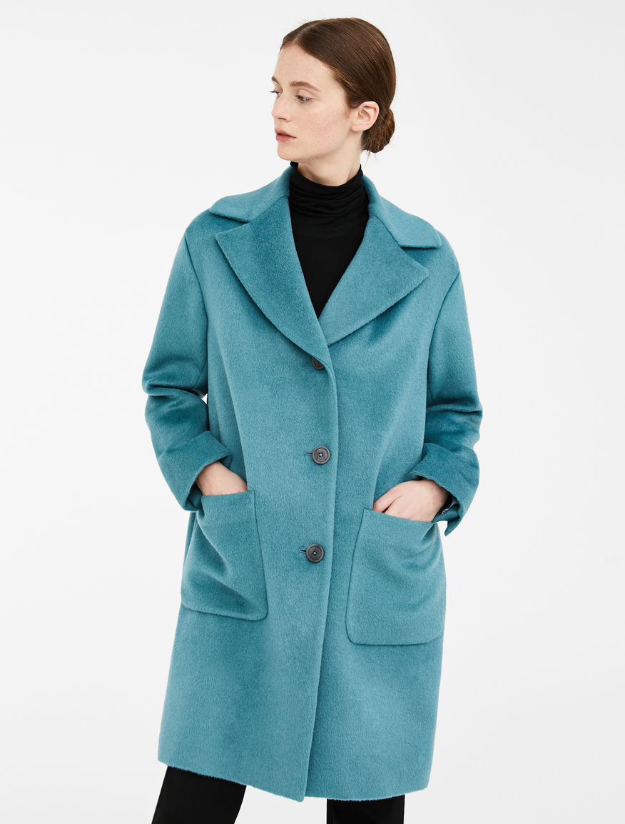 Wool and alpaca teddy coat Weekend Maxmara