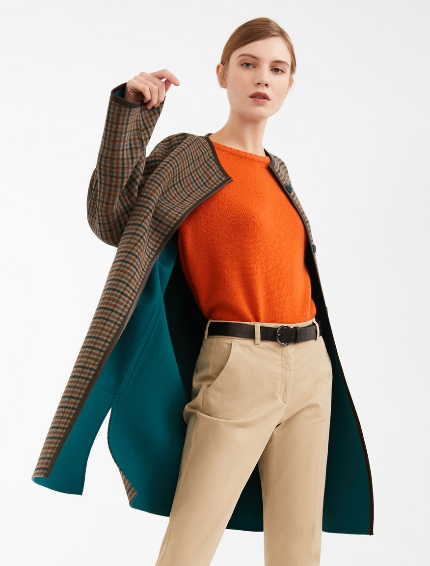 Cappotto reversibile in misto lana Weekend Maxmara
