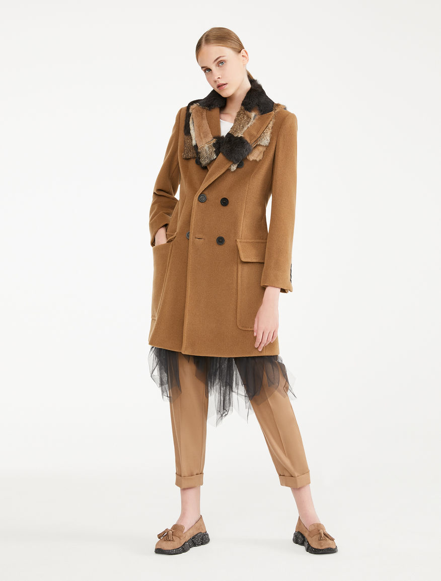 Cappotto in beaver di lana Weekend Maxmara