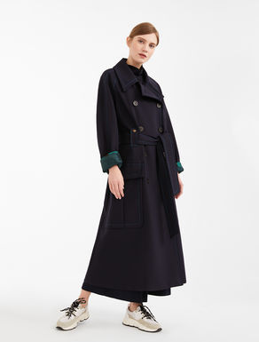 Cappotto in tela di misto lana Weekend Maxmara