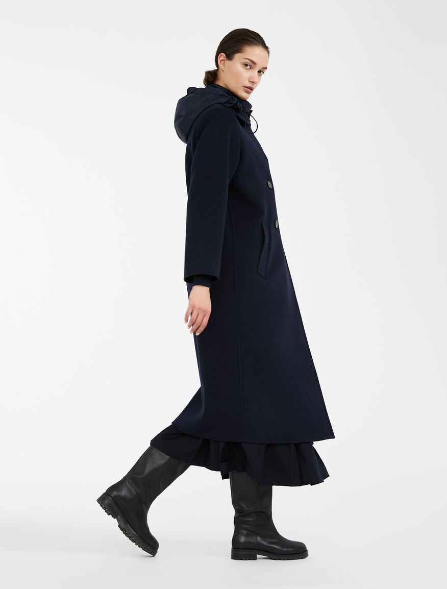 Wool coat with taffeta gilet Weekend Maxmara
