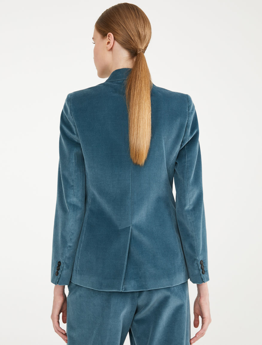 Blazer in velluto di cotone Weekend Maxmara