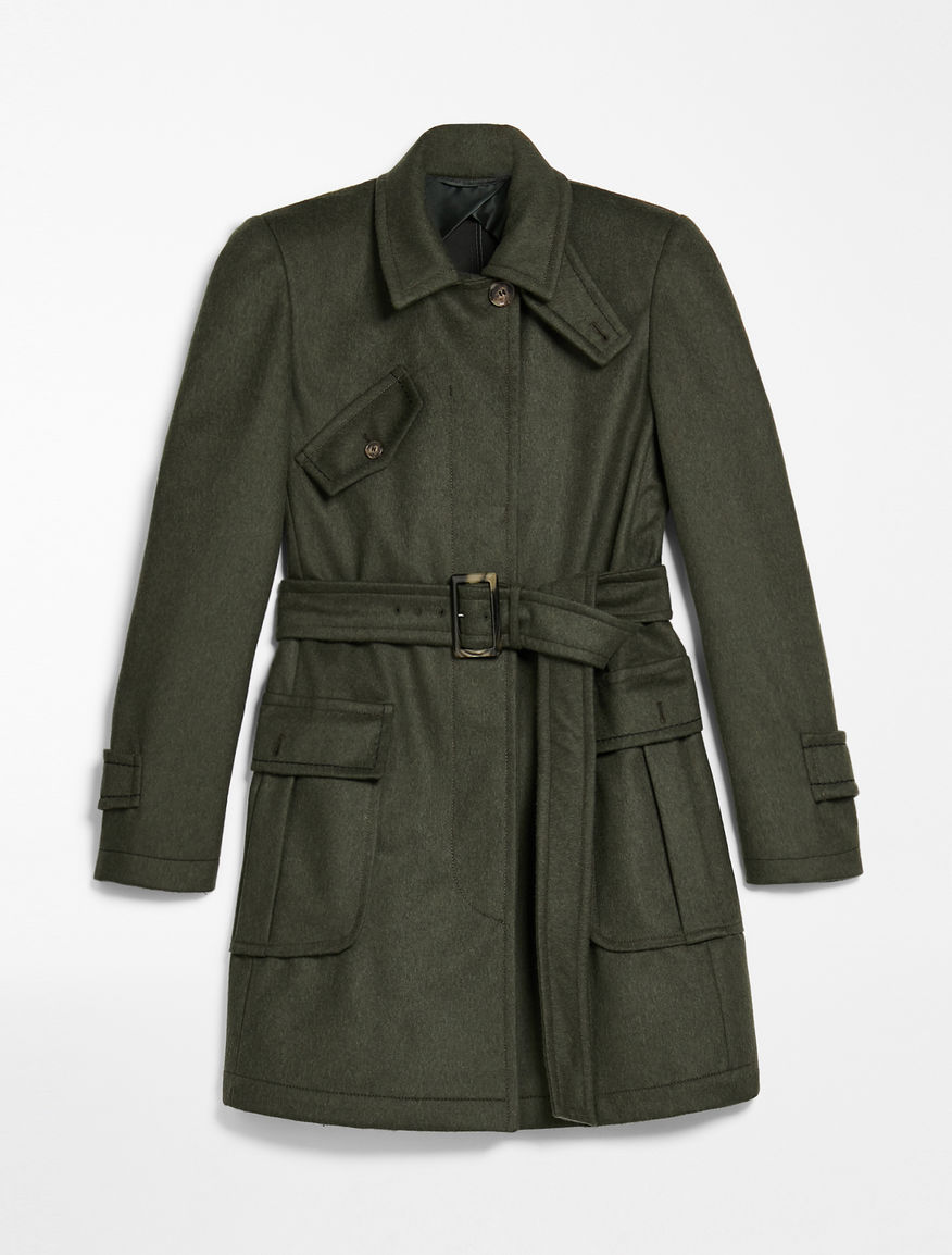 Field jacket in lana Weekend Maxmara