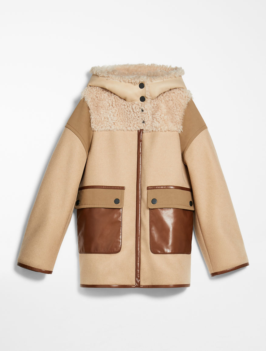 Sheepskin and wool coat Weekend Maxmara