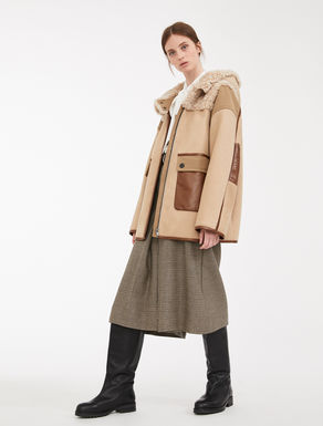 Cappotto in lana e montone Weekend Maxmara