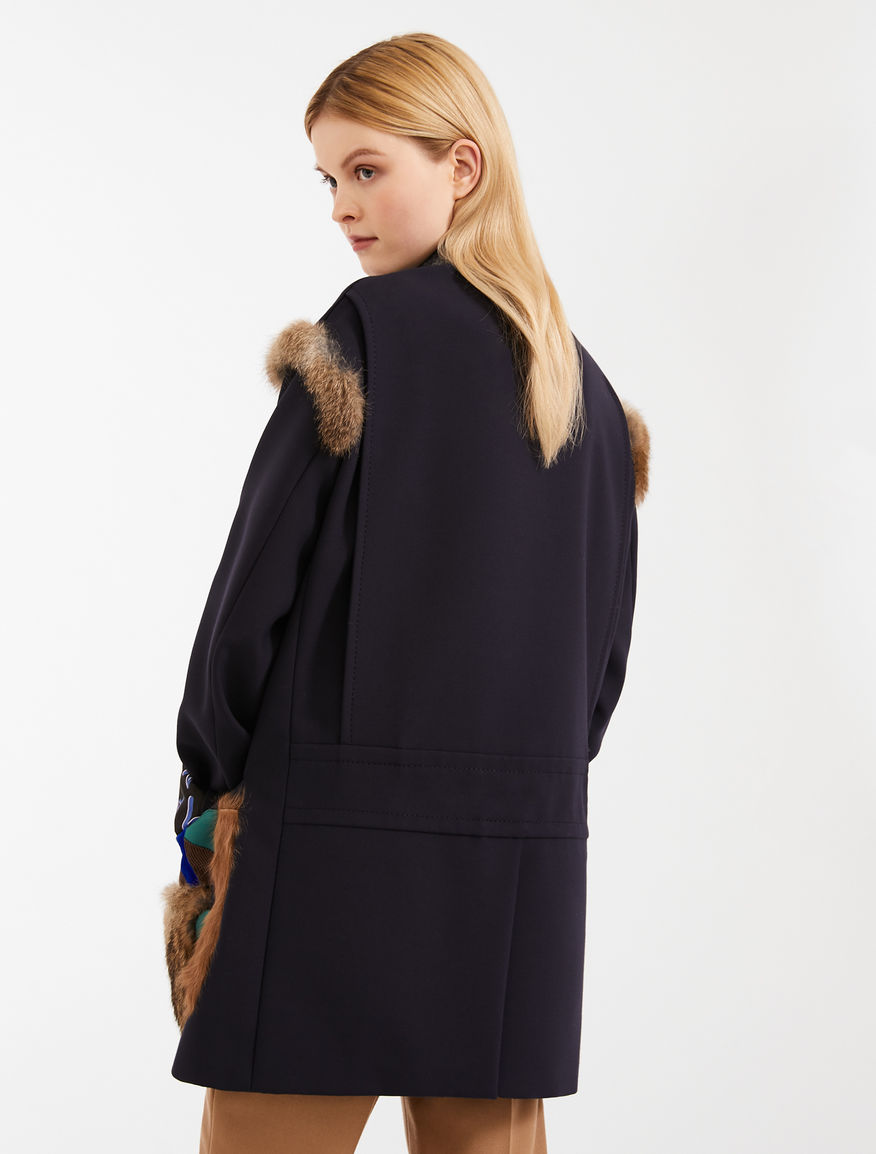 Wool blend pea coat Weekend Maxmara