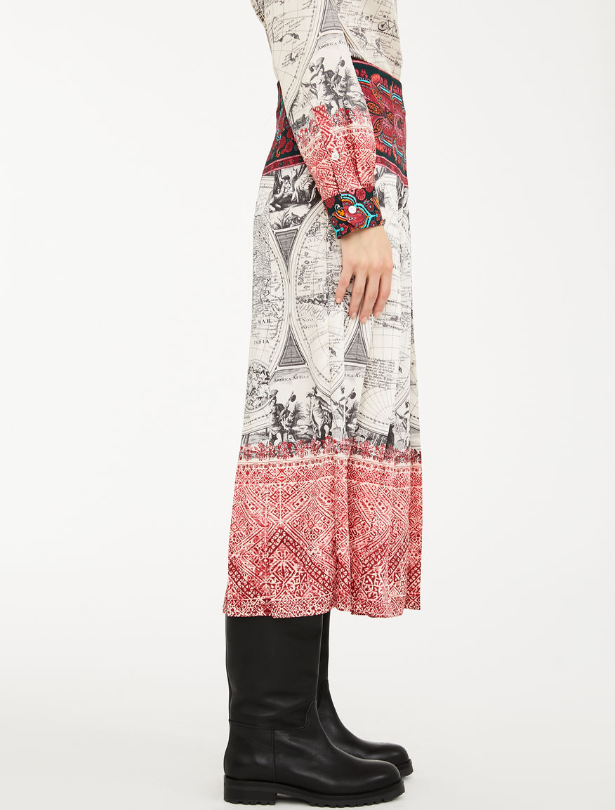 Printed twill dress Weekend Maxmara